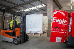 eagle forklift and van