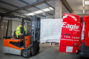 West Lothian, Scotland based Courier Eagle Couriers