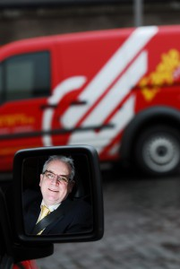 Jerry Stewart Eagle Courier Parcel Delivery in Scotland