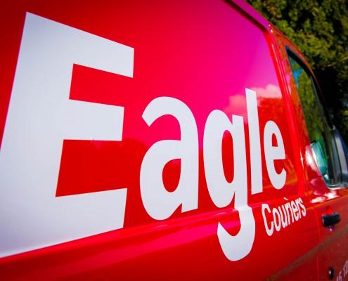 Courier Scotland, Eagle Couriers, van