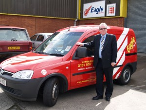 Eagle Couriers takes a green drive