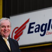 Courier in Scotland, Jerry Stewart Co-Director of Eagle Couriers