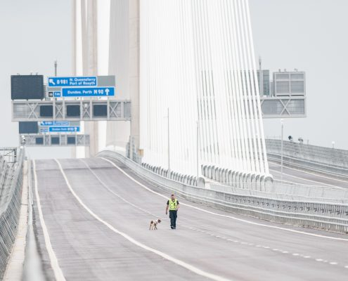 Queensferry Crossing image for Courier in Scotland company Eagle Couriers