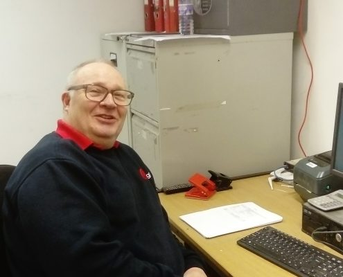 David Campbell, Depot Supervisor, at Scottish Courier company, Eagle Couriers