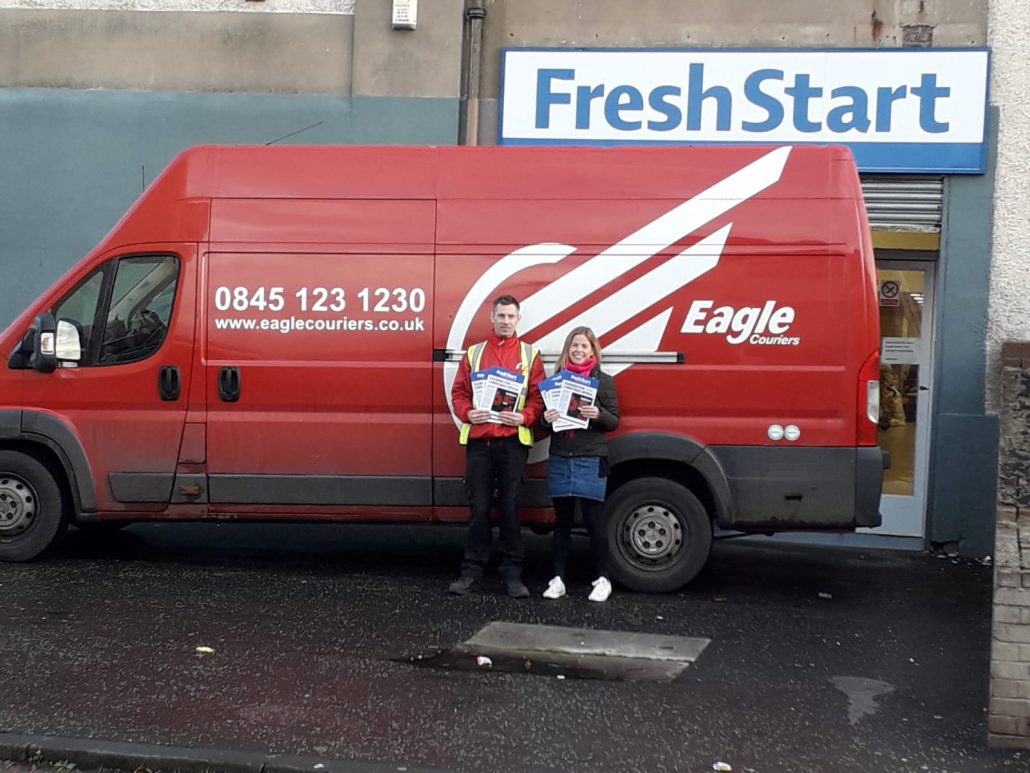 Scottish Courier delivers Fresh Start to Edinburgh's Homeless