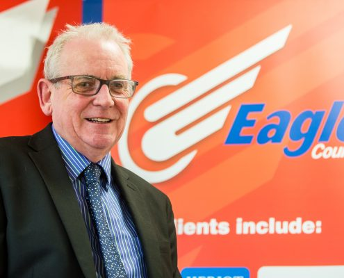 Eagle Couriers Director Jerry Stewart