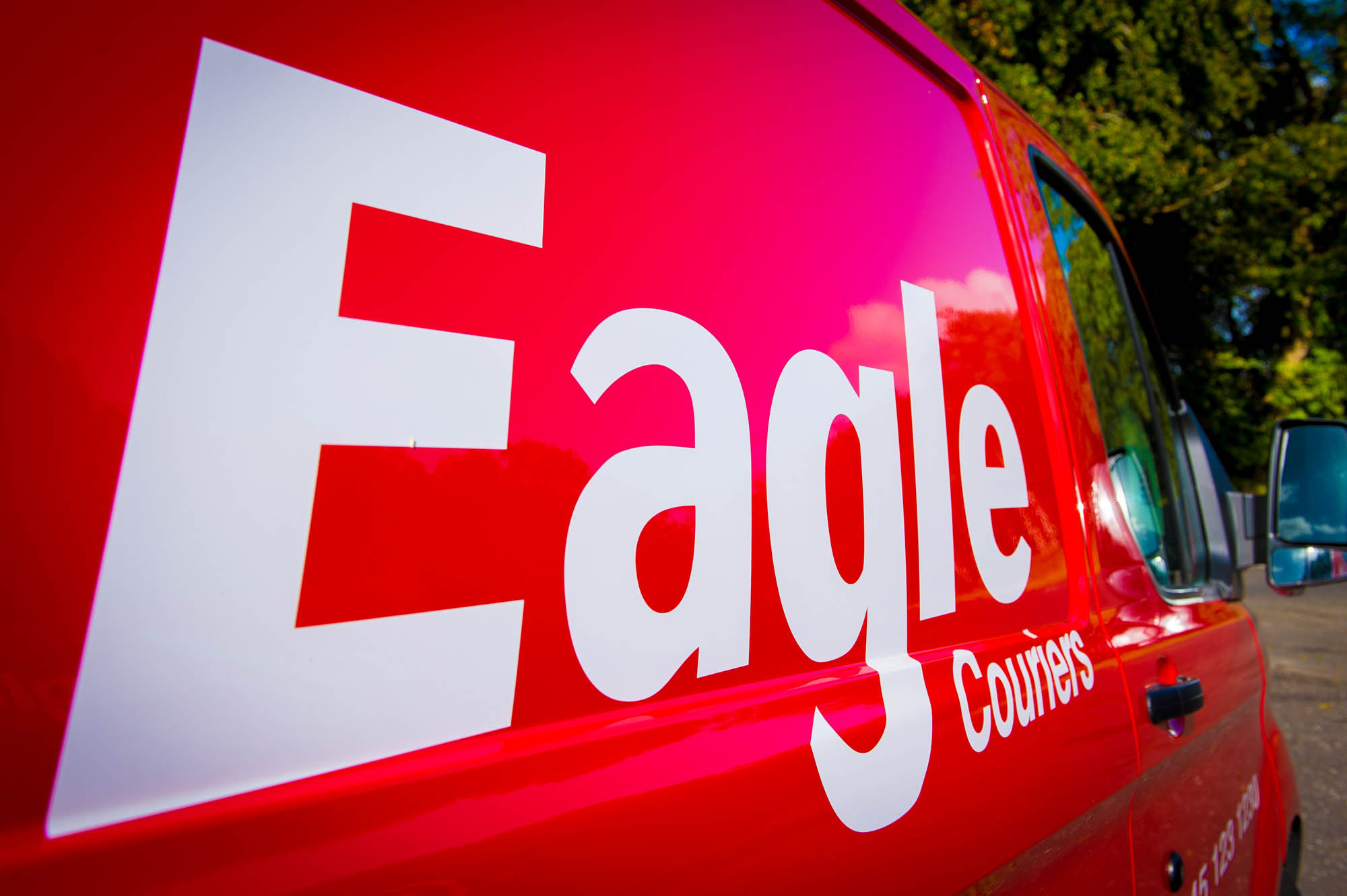 Eagle Couriers in Glasgow, Scotland