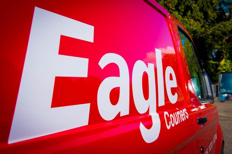 Scottish Courier, Eagle Couriers, van