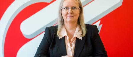 Eagle Couriers Director Fiona Deas