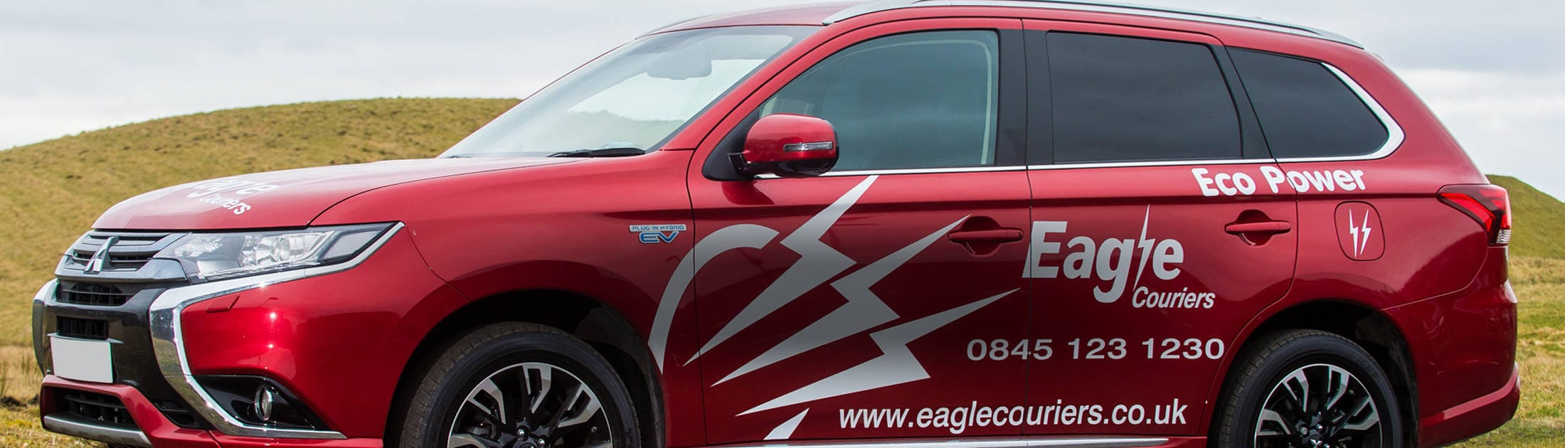 Eagle Couriers Eco Car